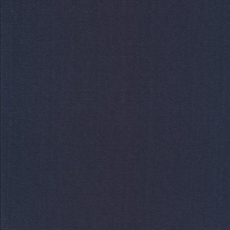 Rest Jersey cowboy-look fin, mørkeblå- 90 - 120 cm. med fejl på 30 cm. !!!