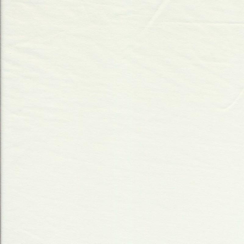 Jersey økotex bomuld/lycra, knækket hvid