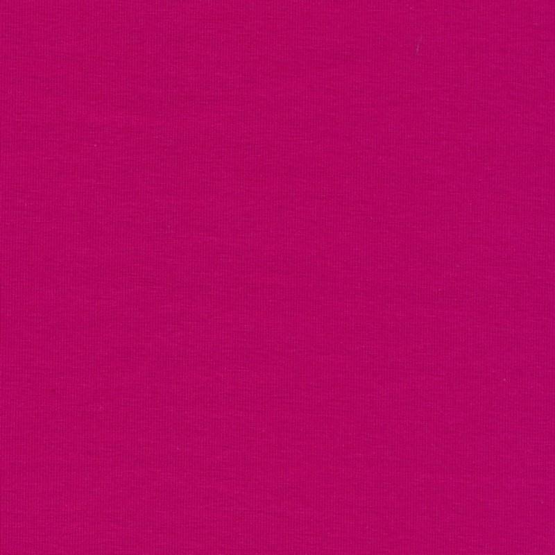 Jersey økotex bomuld/lycra, varm pink