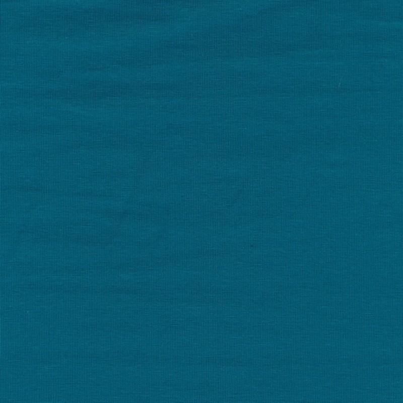 Jersey økotex bomuld/lycra, petrol-34