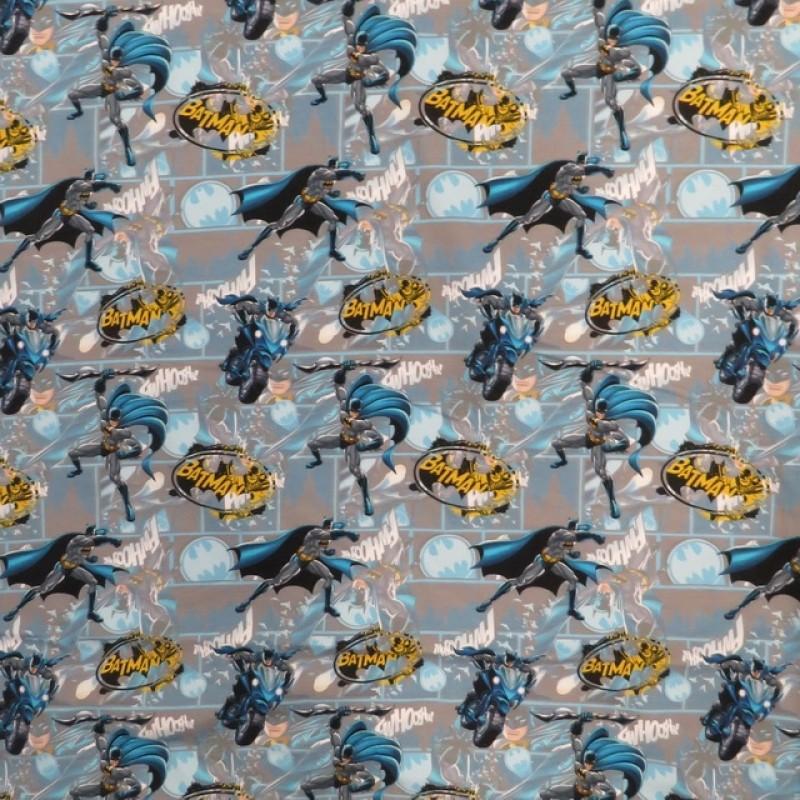 BomuldelasthanidigitalprintilysegrmedBatman-314