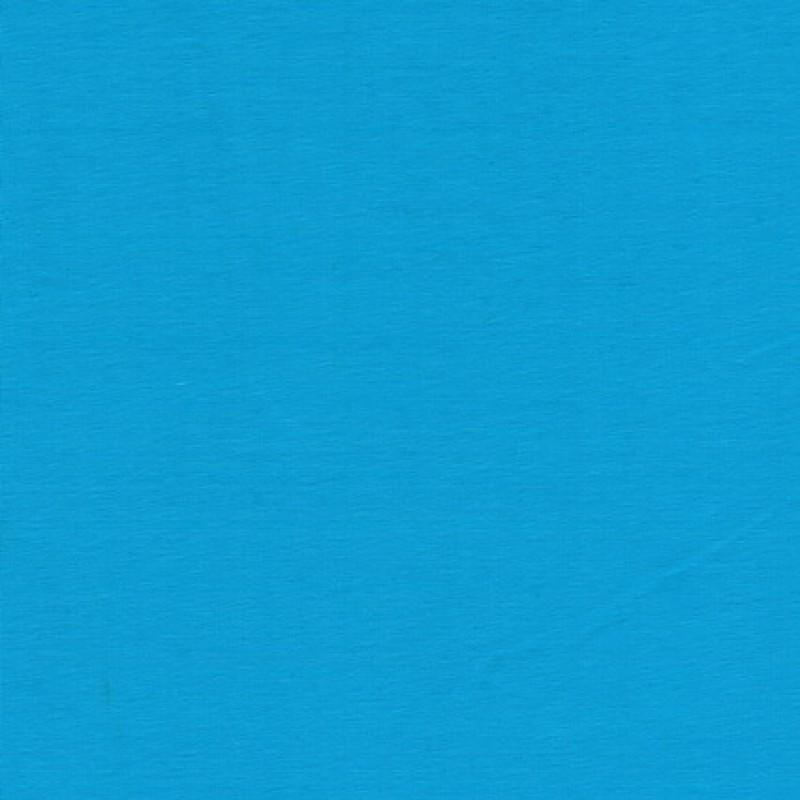 Jersey økotex bomuld/lycra, turkis-31