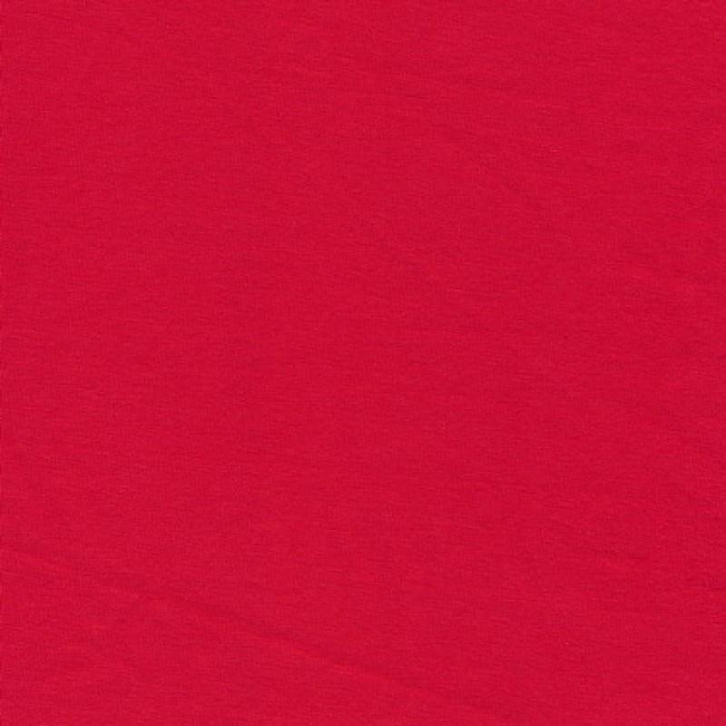 Jersey økotex bomuld/lycra, rød-35