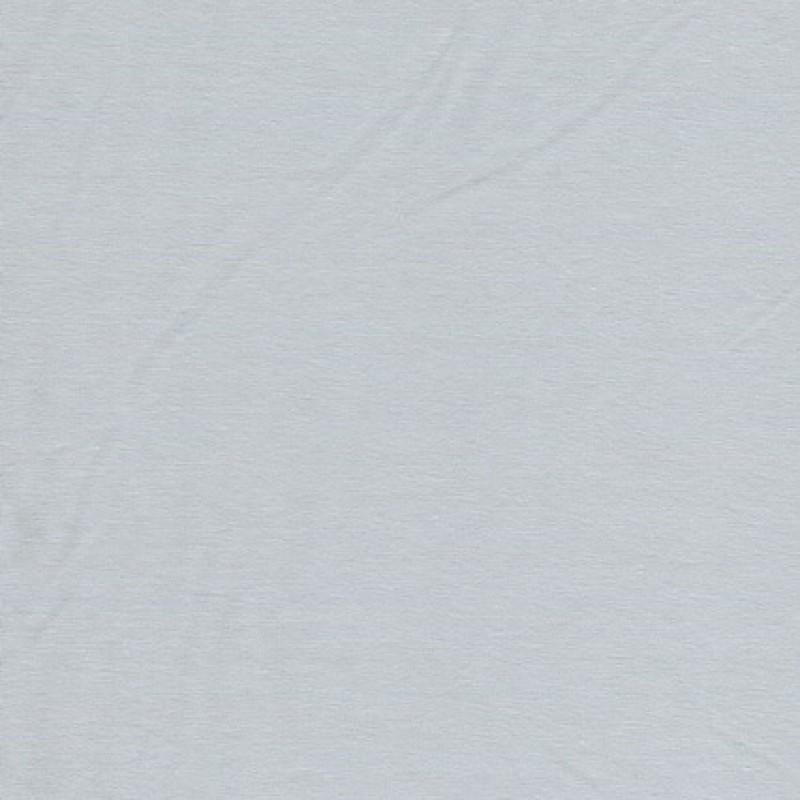 Jersey økotex bomuld/lycra, lys lysegrå