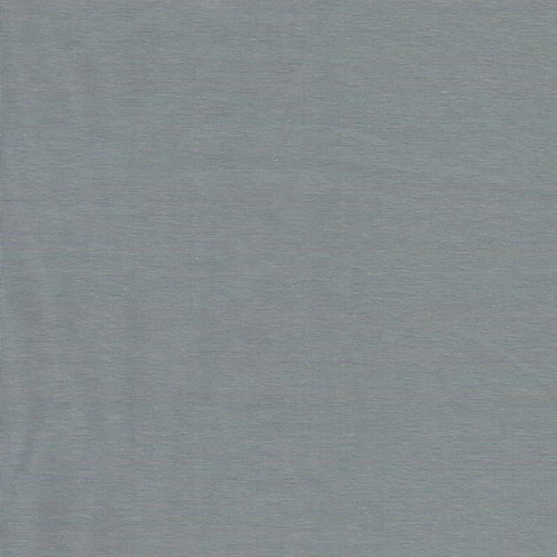 Jersey stof økotex bomuld-lycra, lysegrå-31