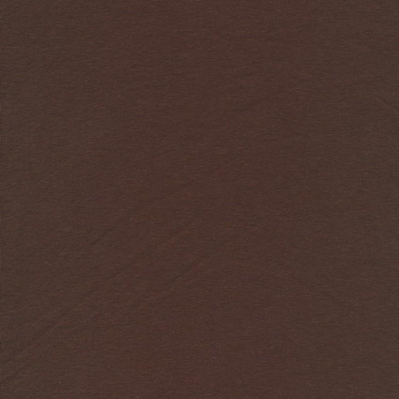 Jersey økotex bomuld/lycra, chokoladebrun-31