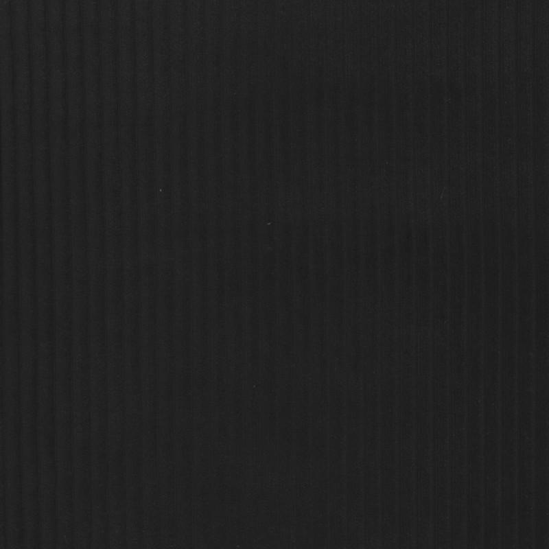 Fløjlsjersey i sort-31