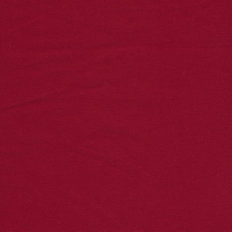 Kanvas 100% bomuld i Halv Panama, mørk rød-38