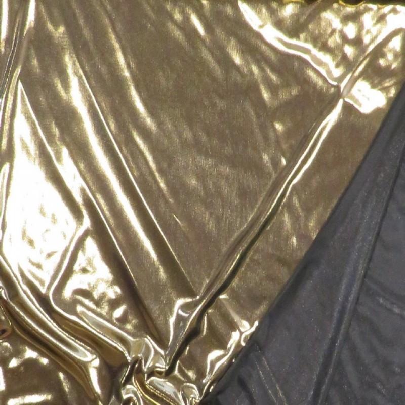 Lame m/sort baggrund i guld