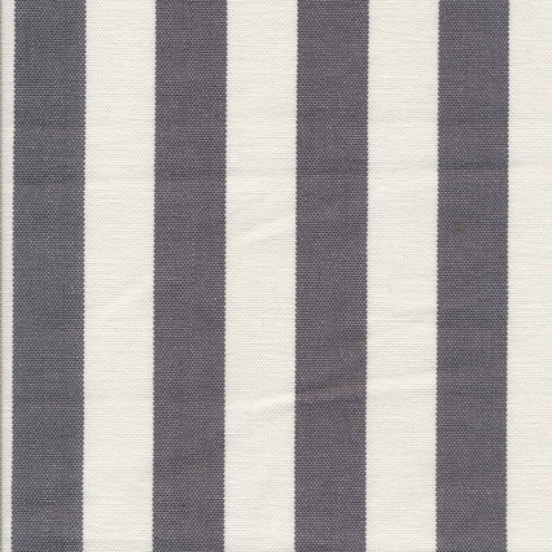 Liggestole stof stribet grå/off-white-35