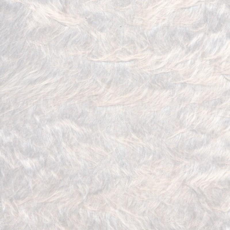 Langhåret pels i hvid-33
