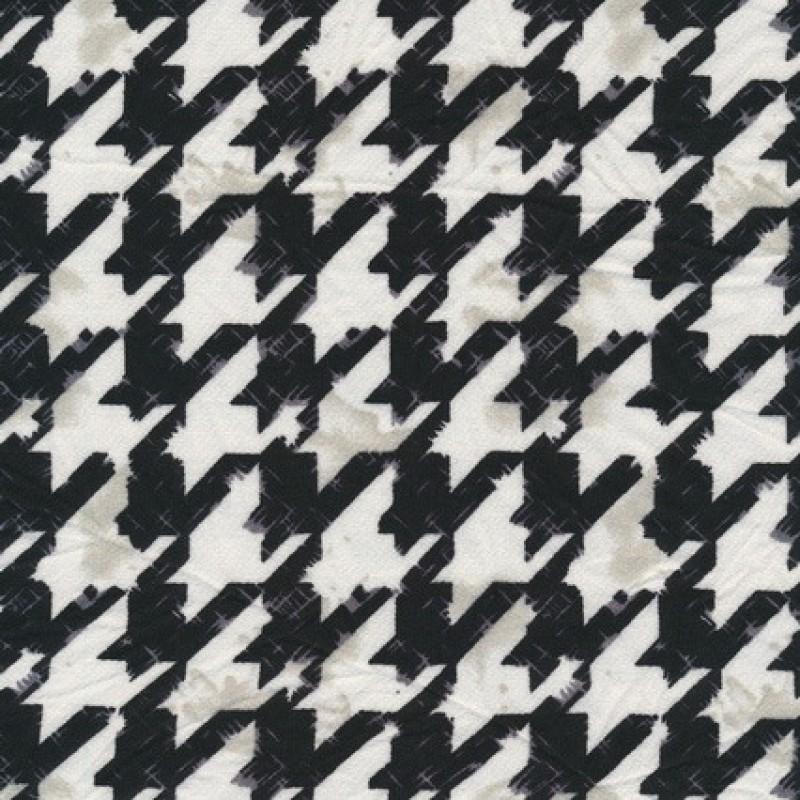Rest Polyester m/hanefjed knækket hvid/grå/sort, 50 cm.-33