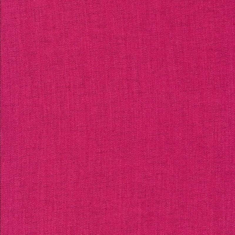 Polyester hør-look i pink-35