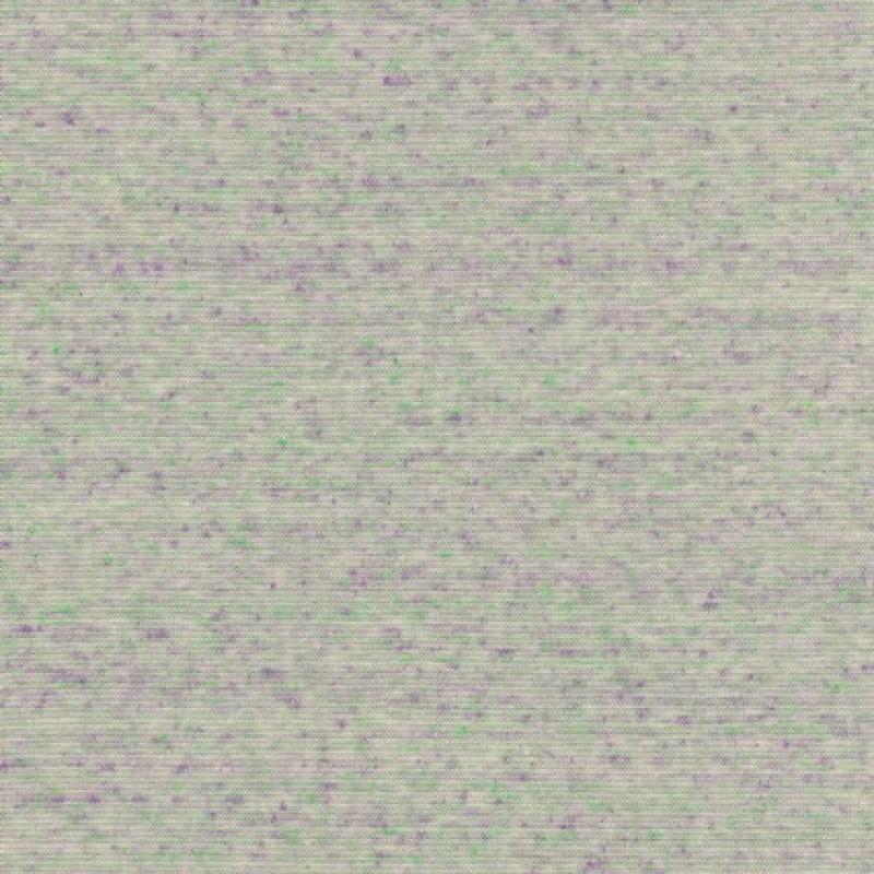 Rib meleret flerfarvet mint/lilla/off-white