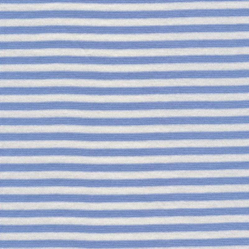 Rest Stribet rib lyseblå/hvid 35 cm.