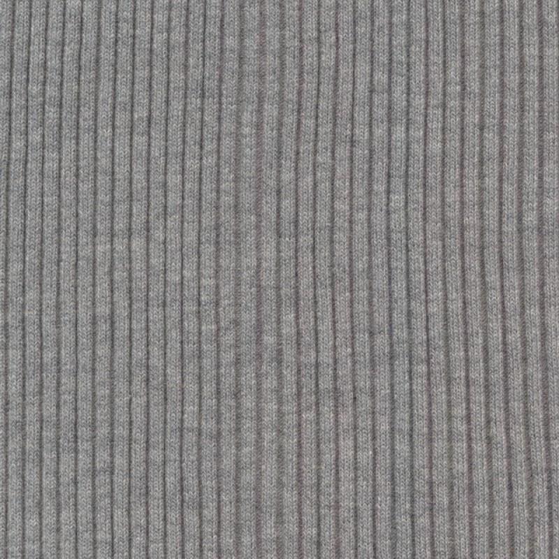 Rib 4x4 i lysegrå meleret-33