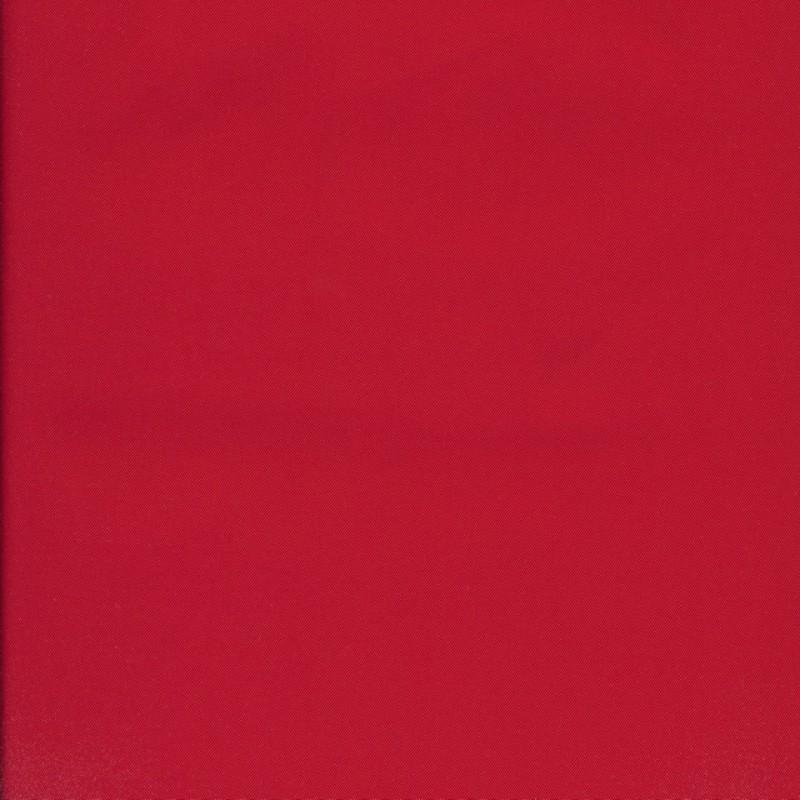 Regnstof ensfarvet rød
