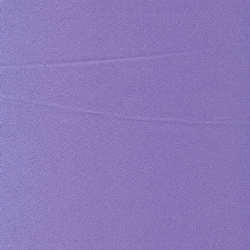 Satin viscose/polyester, lyselilla