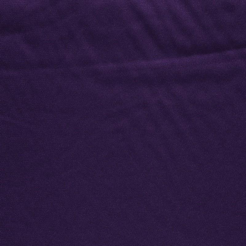 Rest Stræksatin i mørk lilla- 140 cm. med mange folder !
