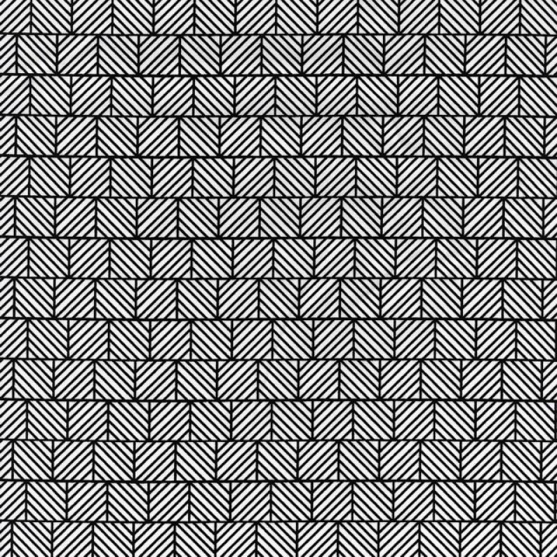 Skjorte poplin med stræk, hvid med sort tern-35
