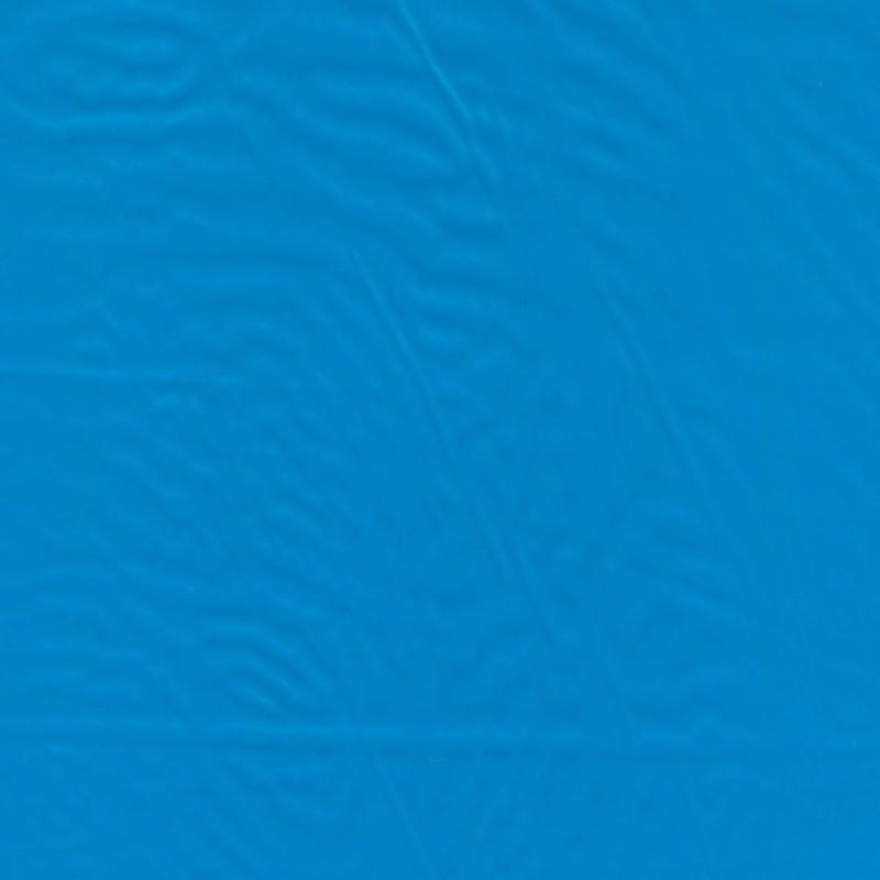 Blank sports-stof turkis-blå
