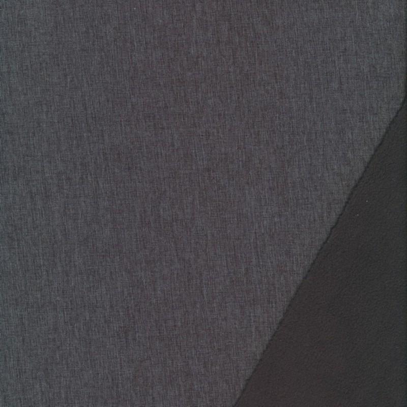 Softshell meleret grå og koksgrå