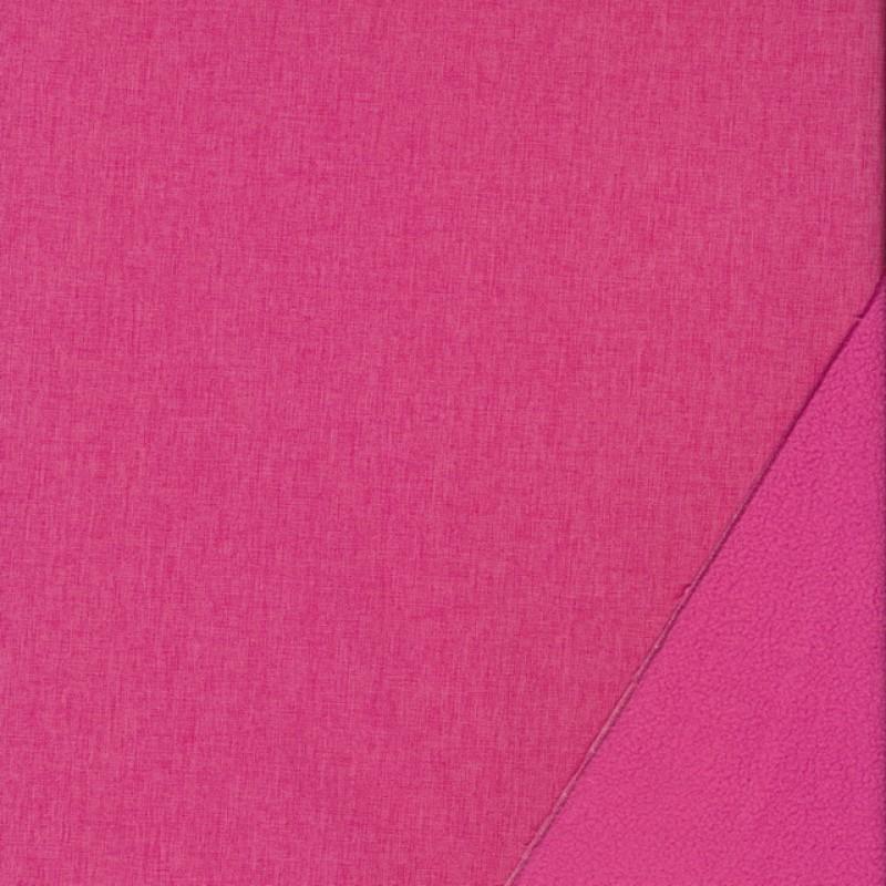 Softshell meleret pink og lyserød