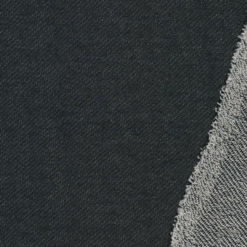 Isoli/strik bomuld/polyester meleret sort-33