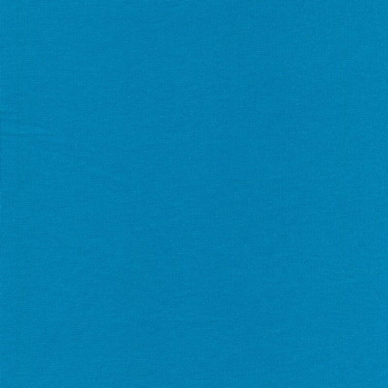 Jersey/strik viscose/polyester, turkis-35