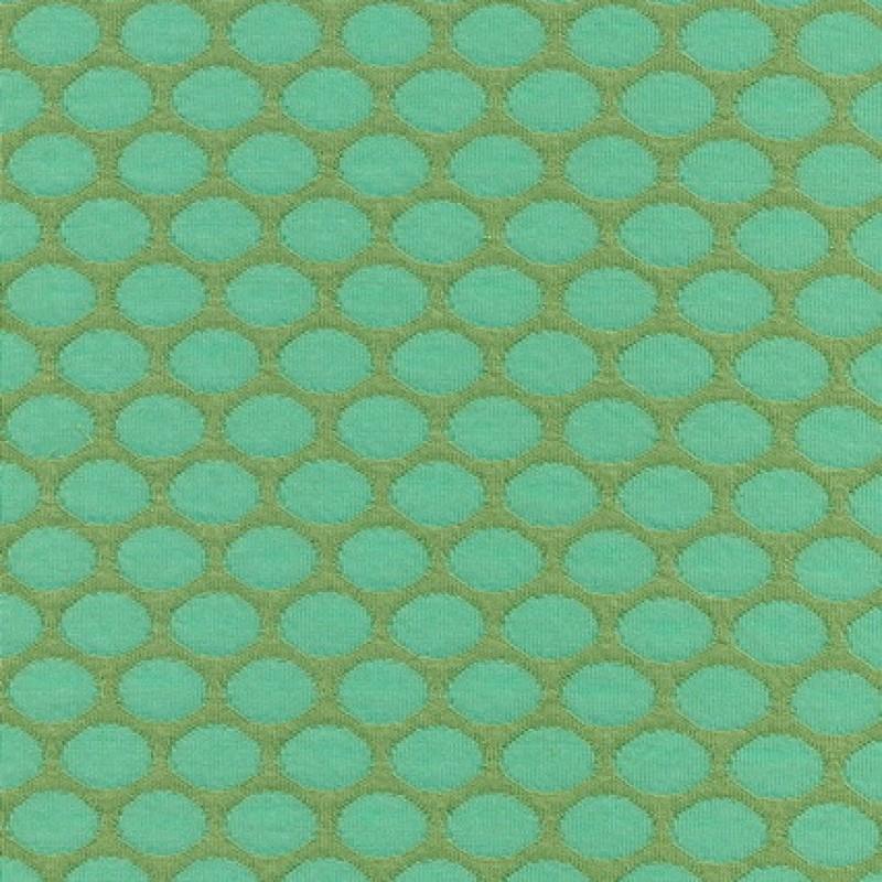 Rest Jacquard strik m/prikker, lime/mint, 125 cm.-33