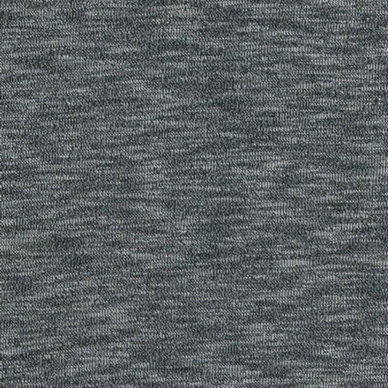 Rest Jersey/strik viscose meleret sort/lysegrå- 120 cm.