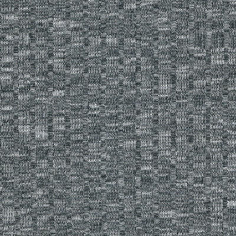Ribstrikket meleret strik, lysegrå/sort-35