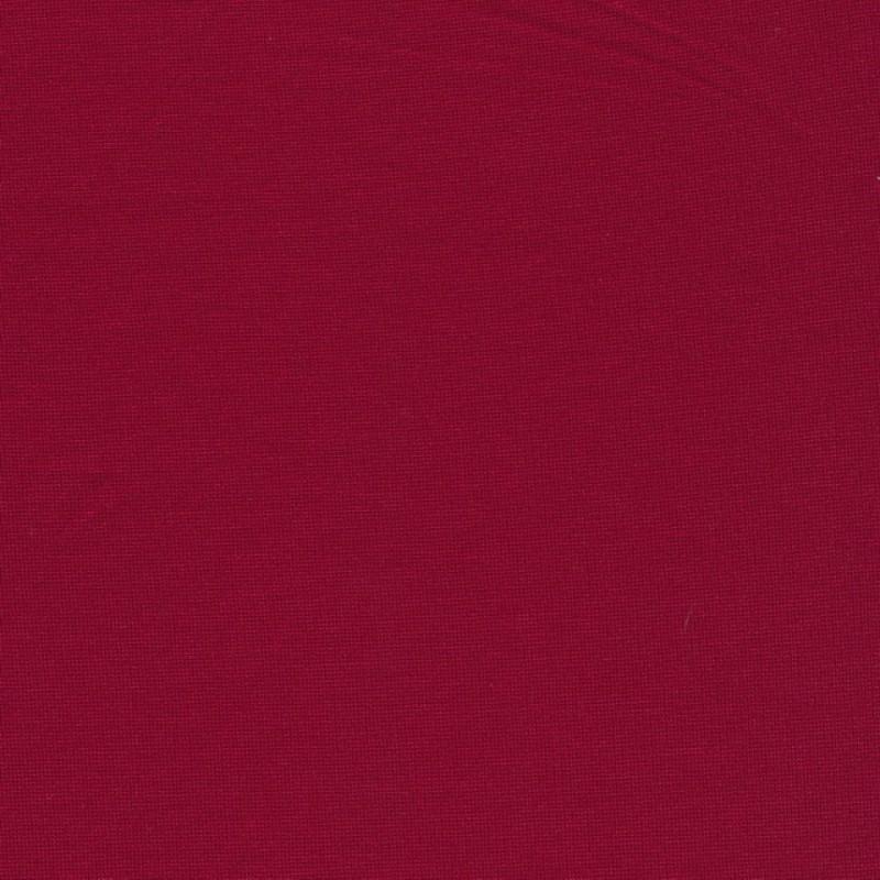 Jersey/strik viscose/polyester, varm rød