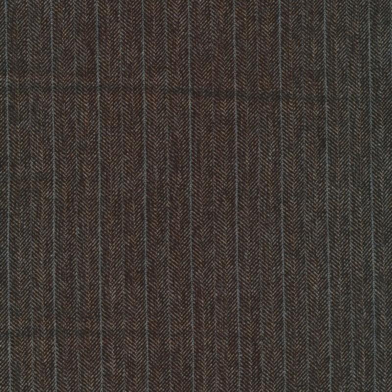 Tweed i sildeben i mørkebrun, beige og grå-blå-37