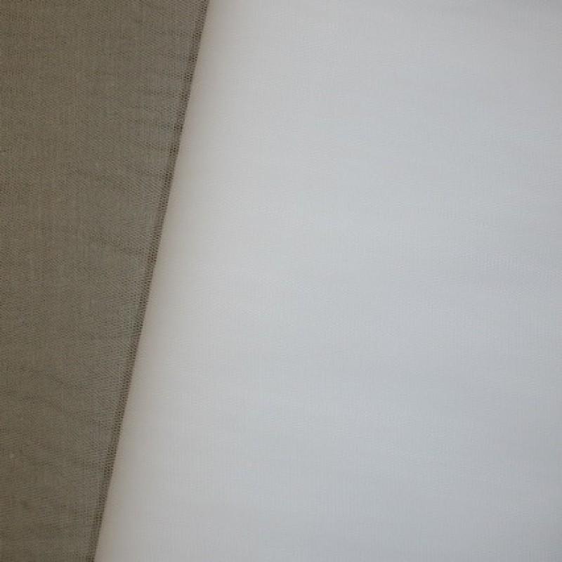 Rest Tyl hvid, 35 cm.