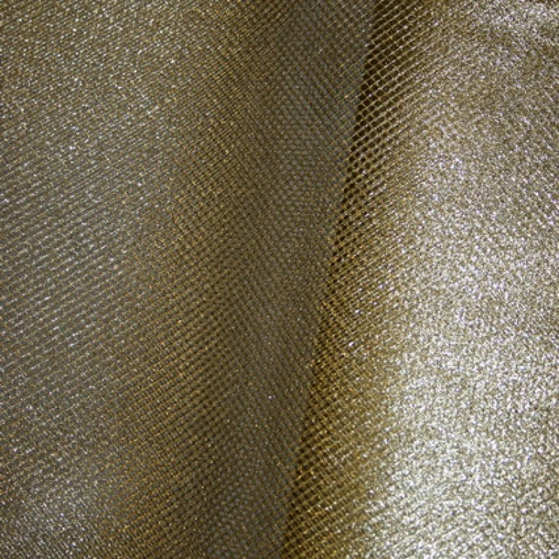 Tyl metalic guld-31