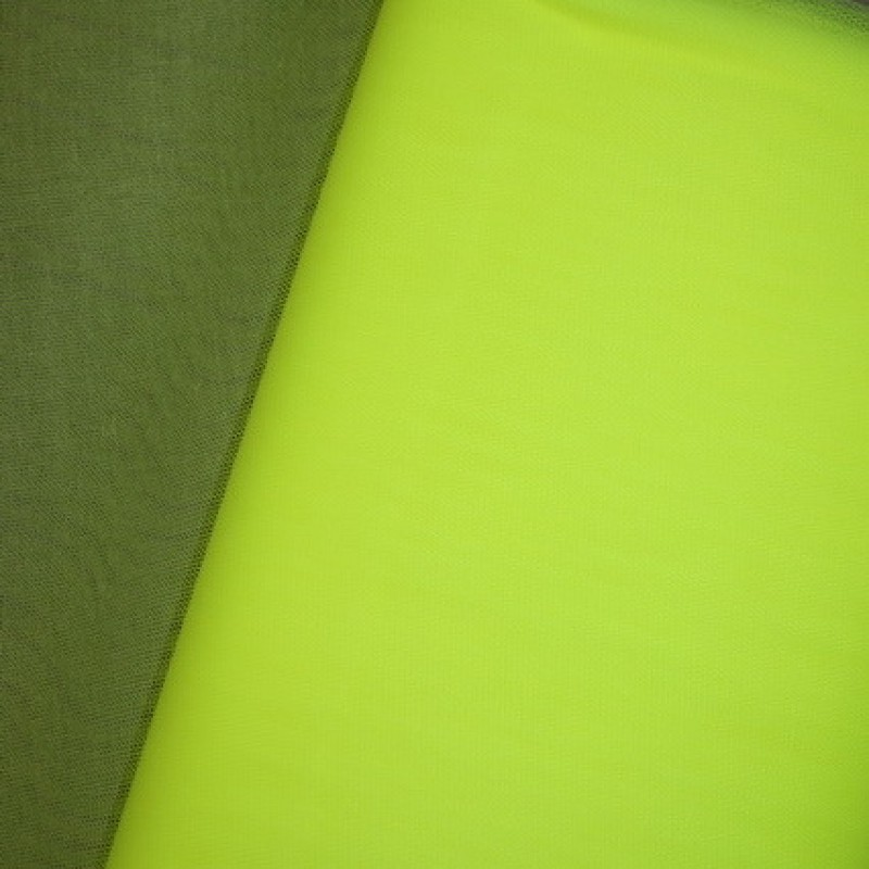 Tyl neon gul