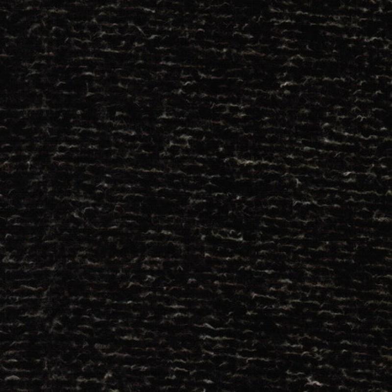 Filtet uld/strik, meleret/stribet mørkebrun-31