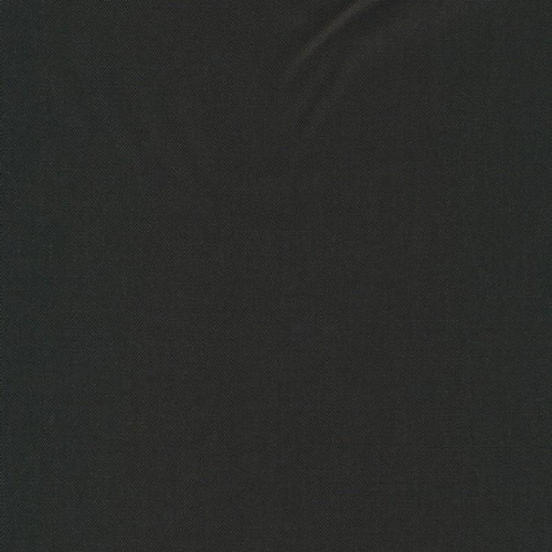 Twill-vævet uld/polyester, mørkebrun-33