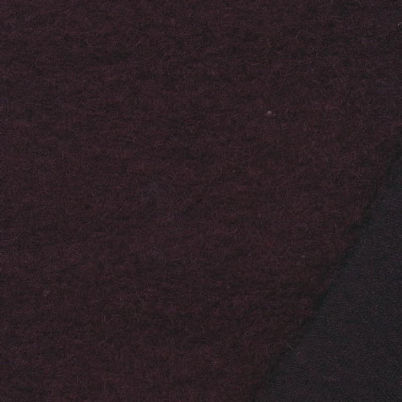 Filtet uld, vinrød-35