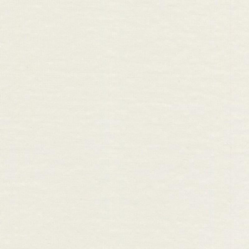 Ribstrikket jersey uld/polyester, off-white