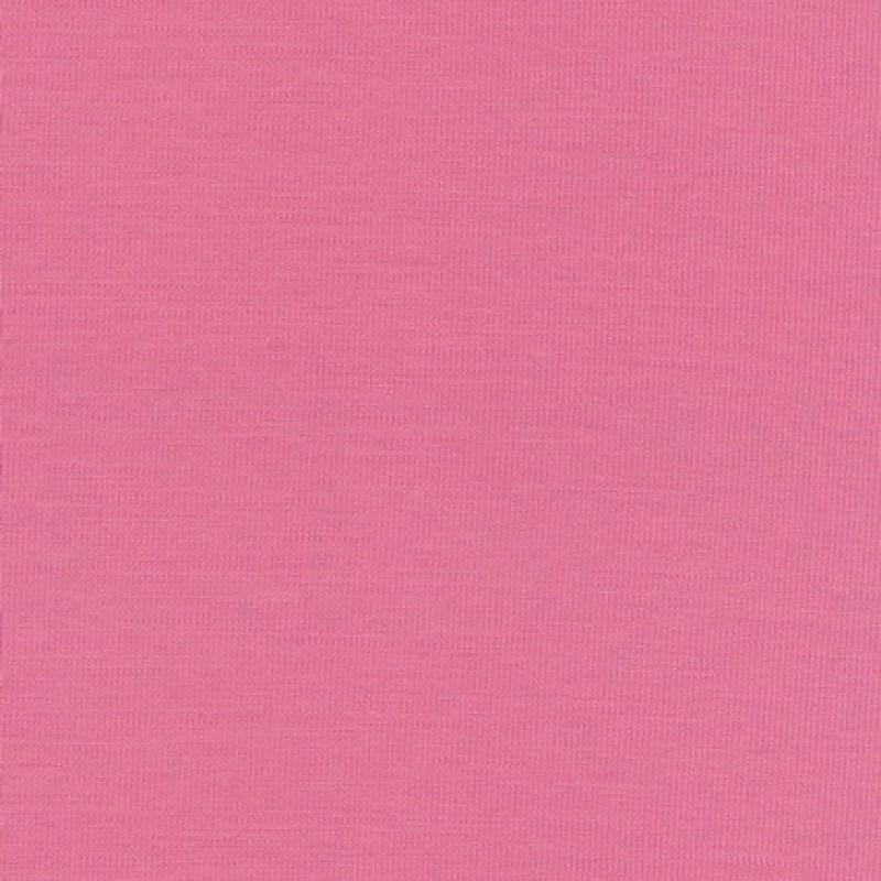 Ribstrikket jersey uld/polyester, lyserød-33