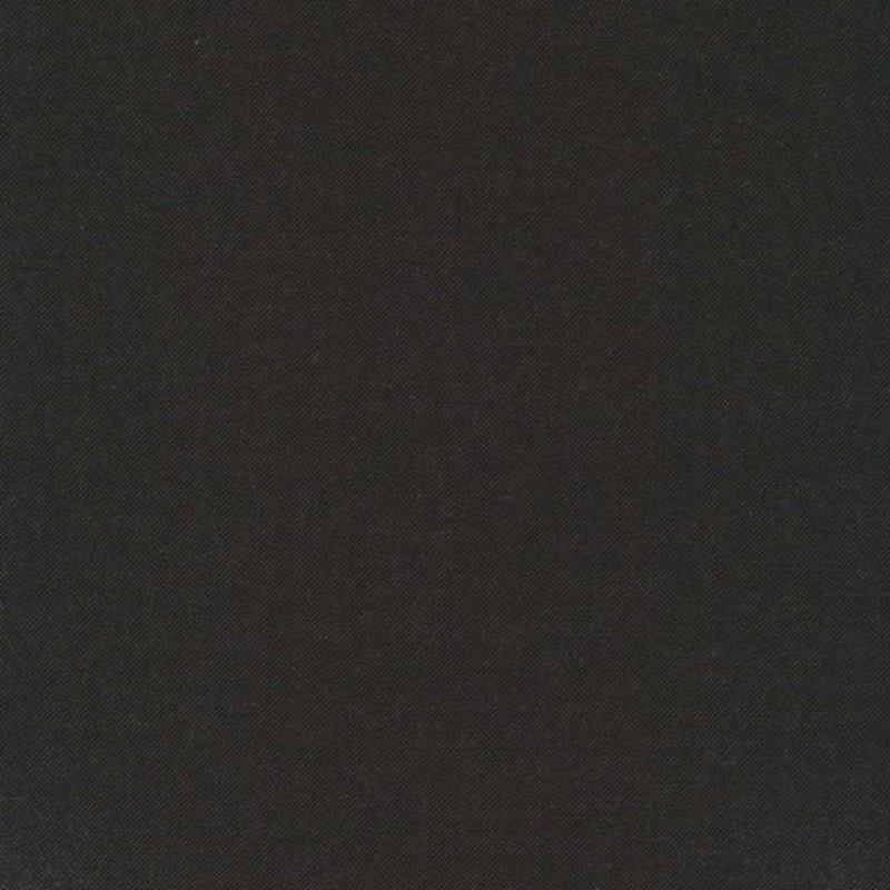 Twill-vævet uld-polyester m.stræk mørkebrun