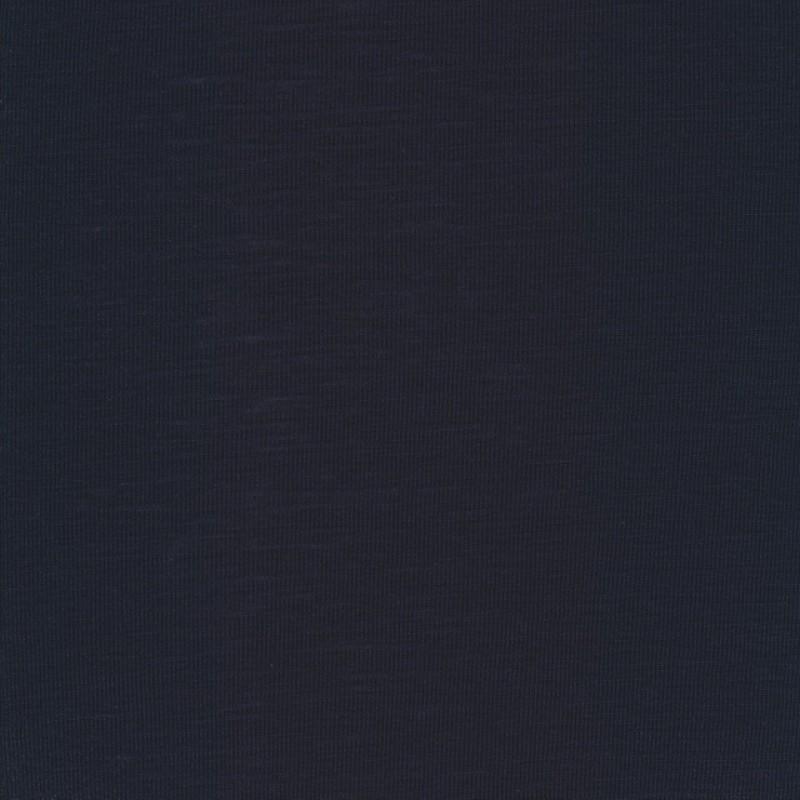 Ribstrikket 100% merino uld, mørkeblå-35