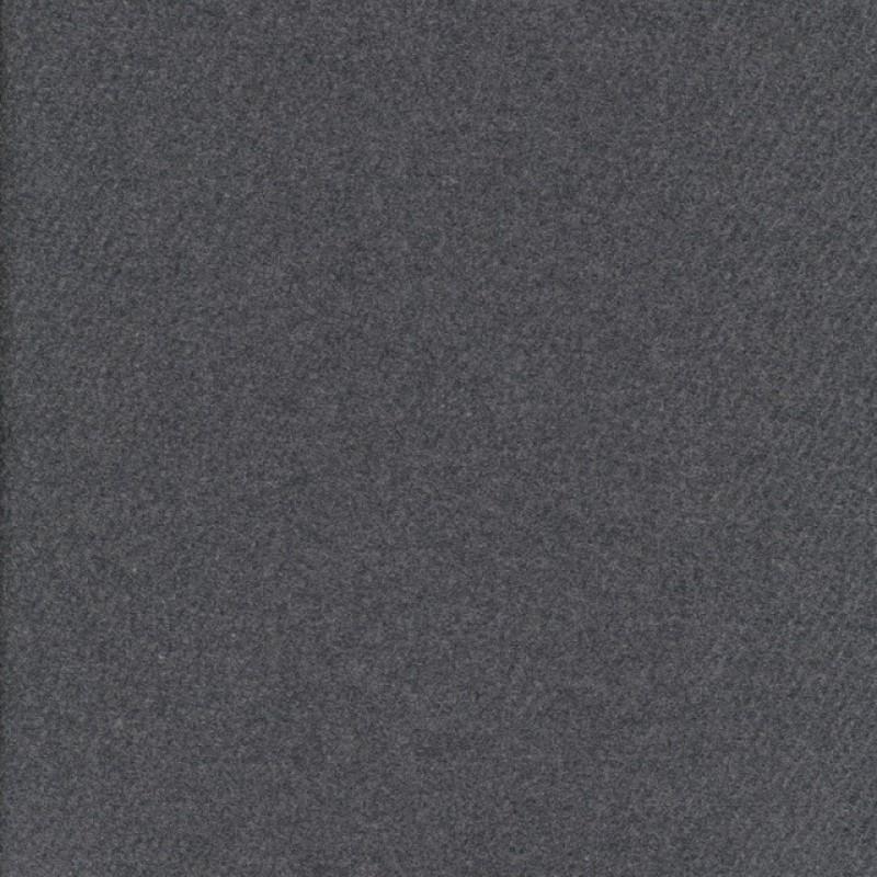 Stof i uld twill-vævet i grå