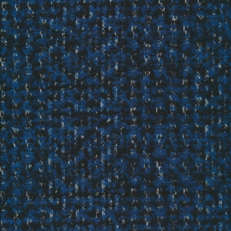 Meleret tweed blå sort-37