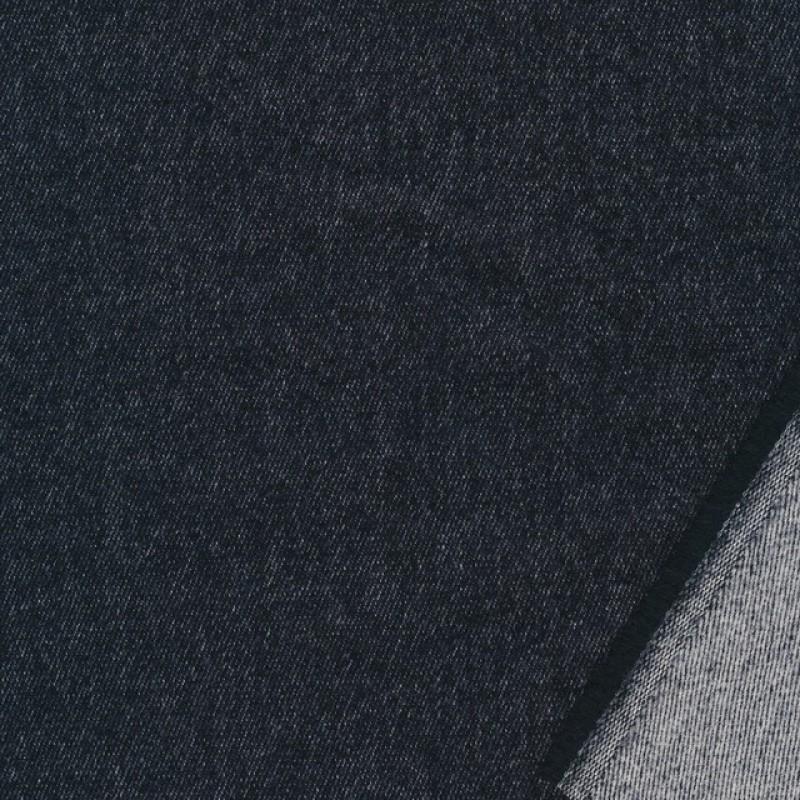 Uld/bomuld med stræk nistret i koksgrå-32