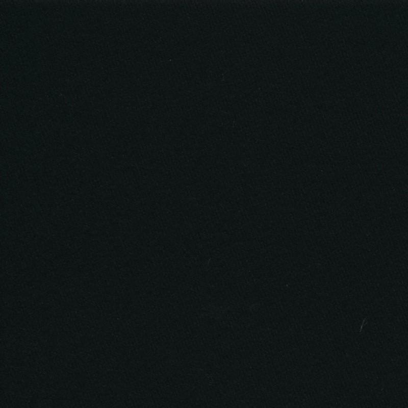 Frakkeuld sort i uld og polyamid-36