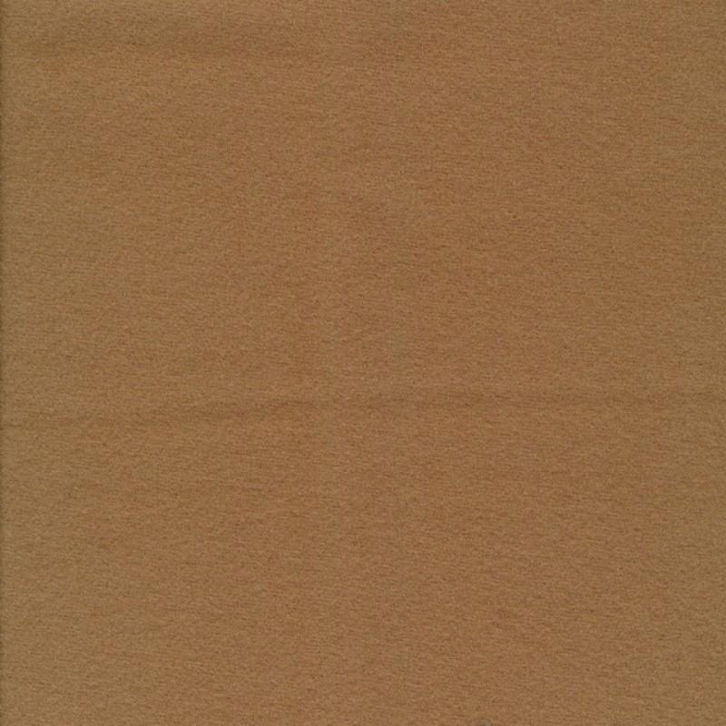 Frakkeuld camel i uld og polyamid-37