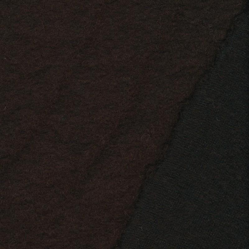 Filtet uld chokolade brun-36